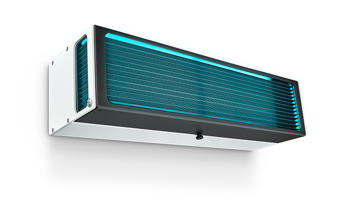 image of Philips UV-C disinfection upper air wall mounted