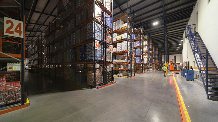 Philips Lighting's GreenWarehouse industrial lighting can save your warehouse up to 50% on energy